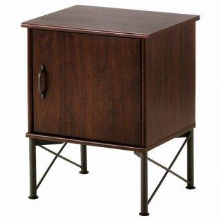 IKEA イケア ベッドサイドテーブル ブラウン 45x58cm m30378680 MUSKEN