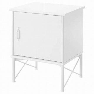 IKEA イケア ベッドサイドテーブル ホワイト 45x58cm m50378679 MUSKEN