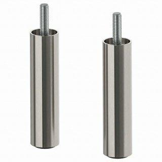IKEA イケア 脚 ステンレスカラー 10cm 2ピース m00489905 OSARP