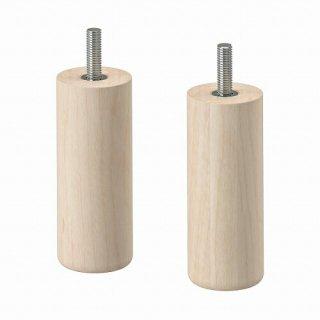IKEA イケア 脚 バーチ 10cm m50489917 2ピース MEJARP