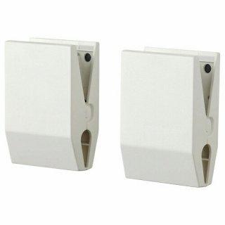 IKEA イケア クリップ マグネット付き ホワイト m60499379 TOTEBO