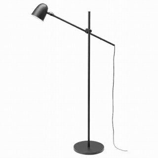 IKEA イケア フロア 読書 ランプ ブラック m20471122 SKURUP