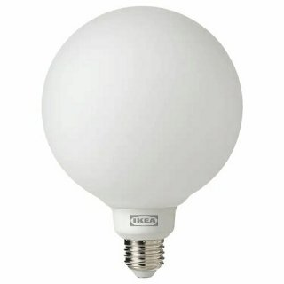 IKEA イケア LED電球 E26 440ルーメン ワイヤレス調光 ホワイト 白スペクトラム 球形 ホワイト 白フロストガラス m10441343 TRADFRI