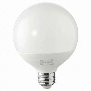 IKEA イケア LED電球 E26 1160ルーメン 調光可能 球形 オパールホワイト 95mm m80498699 SOLHETTA
