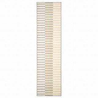 IKEA イケア キッチンマット ベージュ 45x180cm m10518021 ELVERK