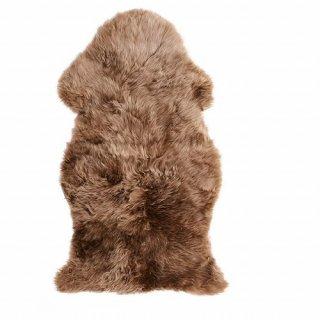 IKEA イケア 羊皮 ライトブラウン 85cm m00508225 ULLERSLEV