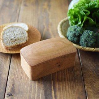 バターケース(小)【200g用】 & バターナイフ TANBANANBA 木のしごと 難波行秀