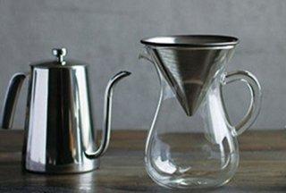 KINTO コーヒードリッパーセット  コーヒーカラフェセット 600ml SCS-04-CC  lSLOW COFFEE STYLE スローコーヒースタイル