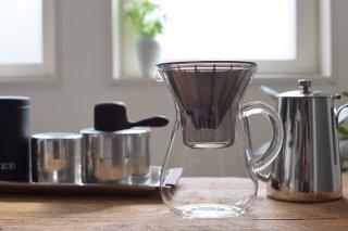 KINTO コーヒードリッパーセット ペーパーフィルター用●コーヒーカラフェセット プラスチック 600ml