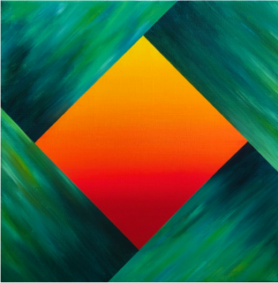 Sunset rhombus