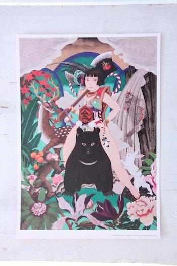 Team TSUKINOWA / 印刷A4