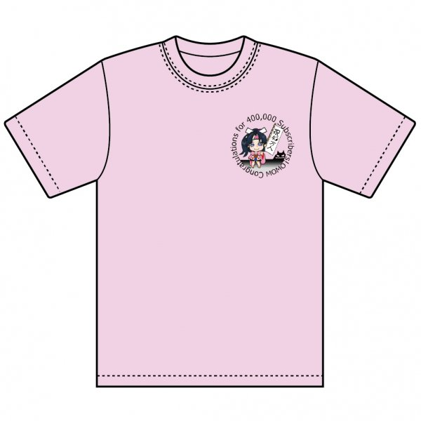 【Momo】Original_Design_Tシャツ(PINK)