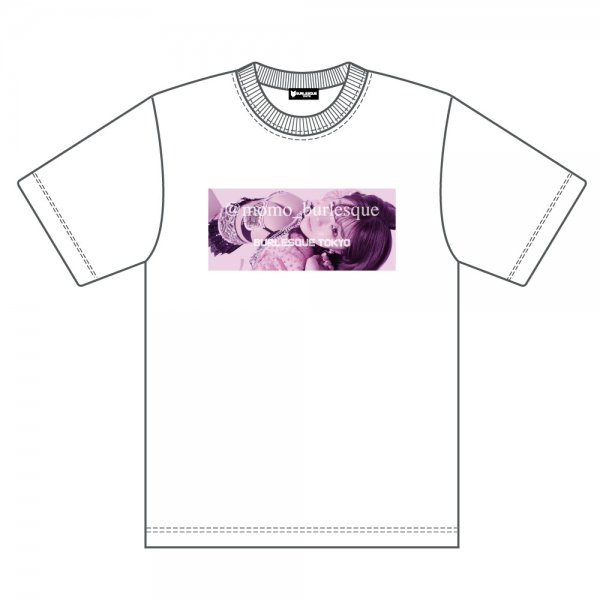 【Momo】Original_Birthday_Tシャツ(WHITE)