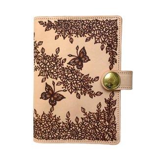 ◆手帳カバーA6サイズ(文庫本サイズ)  蝶々