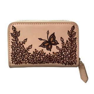◆スクエアコインケース 蝶々