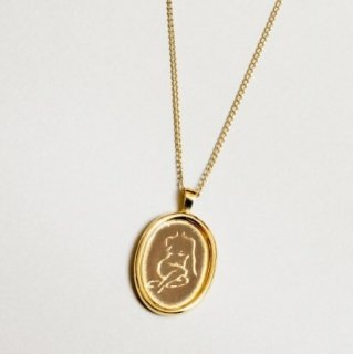 <img class='new_mark_img1' src='https://img.shop-pro.jp/img/new/icons1.gif' style='border:none;display:inline;margin:0px;padding:0px;width:auto;' />Femme Necklace Gold