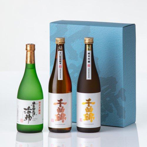 【日本酒】ギフトセット<br>CNN-40(720ml×3)