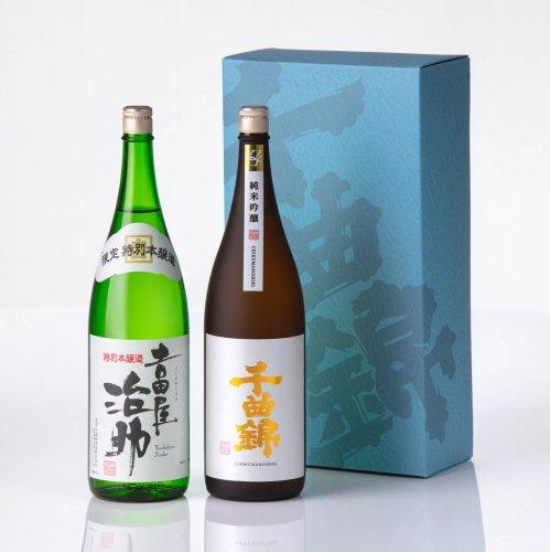 【日本酒】ギフトセット<br>JJ-60(1800ml×2)