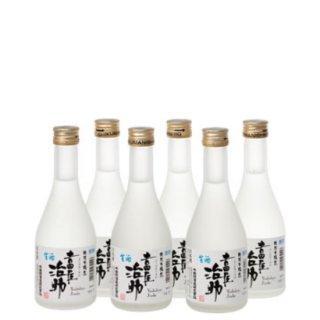 【日本酒】ギフトセット <br>SGJ-37<br>特別本醸造 吉田屋治助 生酒<br>(300ml×6本セット)<br> (要冷蔵・クール便)