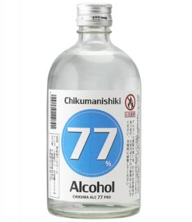 《高濃度アルコール》<br>CHIKUMA  ALC.77  PRO  500ml