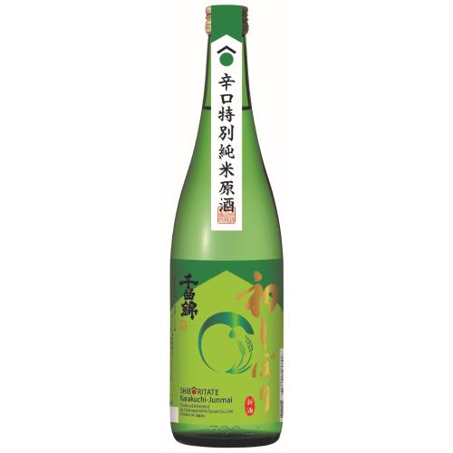 新酒初しぼり 辛口特別純米原酒 720ml