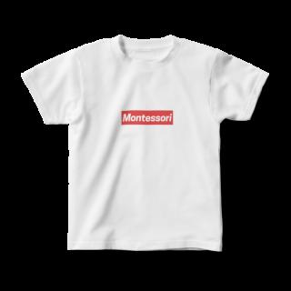【受注生産】《キッズ》MONTESSORIボックス/半袖Tシャツ