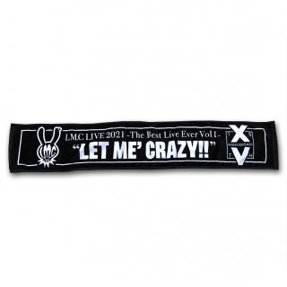 LIVE 2021 LET ME' CRAZY!! マフラータオル