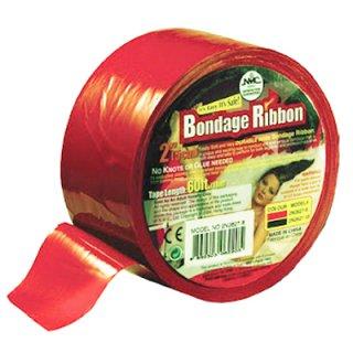 ボンテージテープ 18m赤