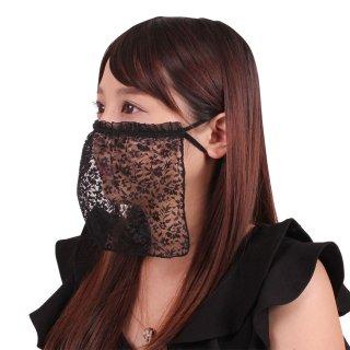 【女性におすすめ】 美酒に酔いしれるレースマスク