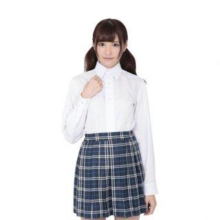 本気で盛れる長袖シャツ ホワイト【Mサイズ】