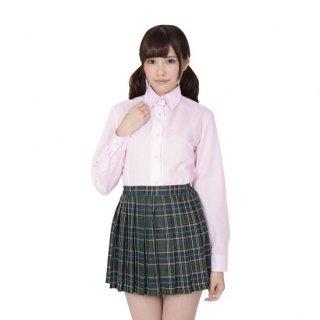 本気で盛れる長袖シャツ ピンク【Mサイズ】