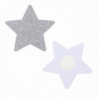 【ニップルシール】星型【シルバー】