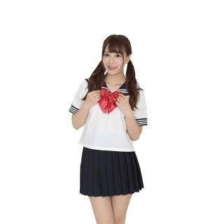 セーラー服2(えんじリボン)【LLサイズ】
