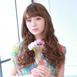 襟足ウィッグ/乙女巻き/VX21【耐熱キャラメルブラウン】