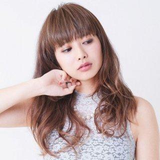 前髪ウィッグ/ぱっつんシャギーちゃん/FX06【耐熱マロンブラウン】