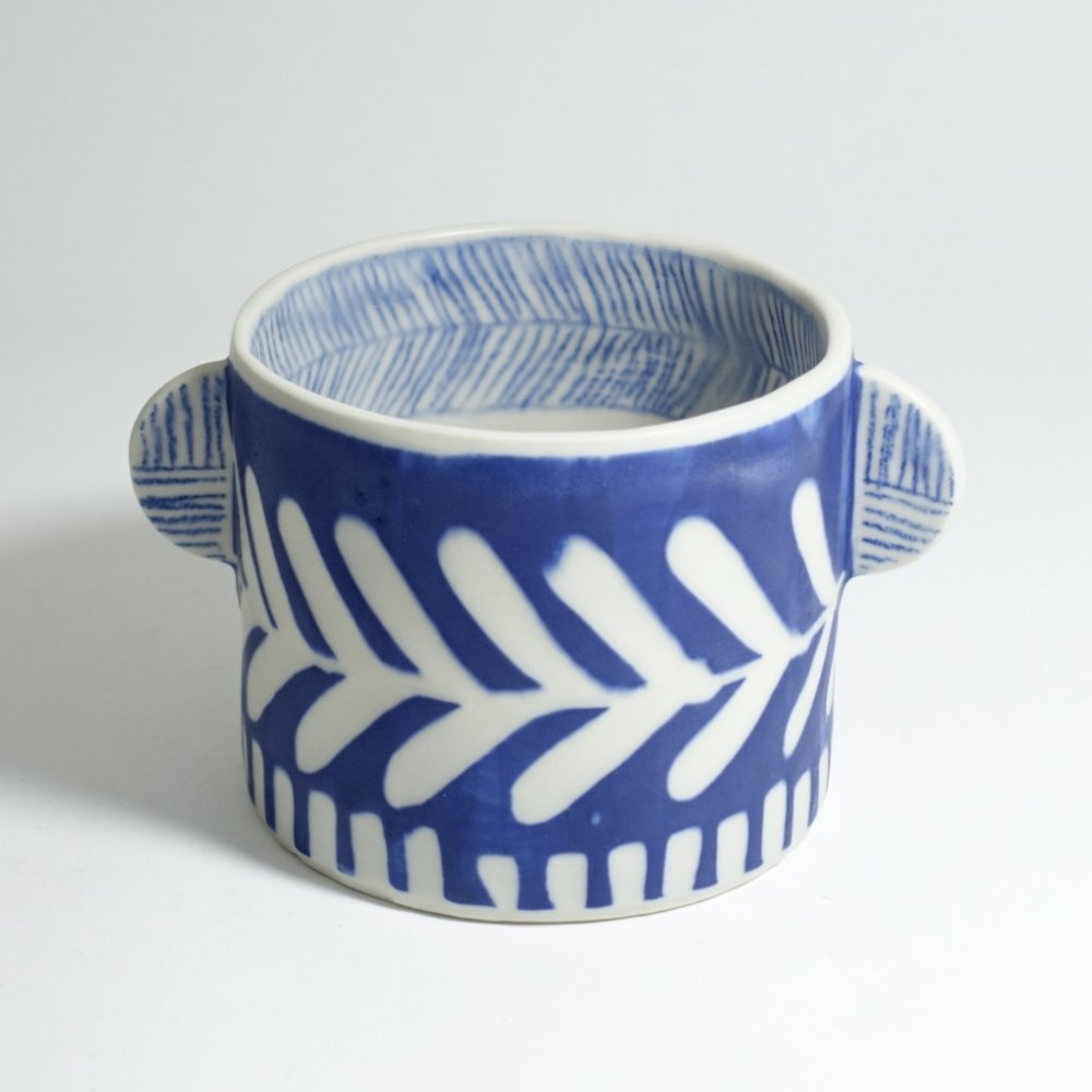 blue cup A