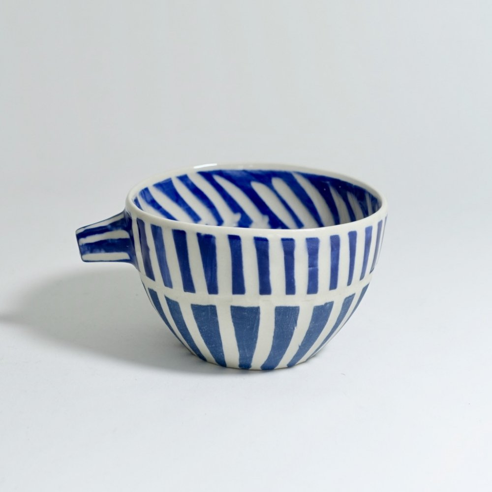 dancing blues teacup