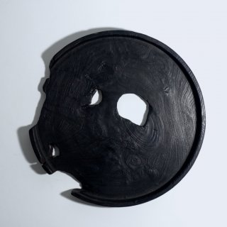 漆黒トレイ Φ260