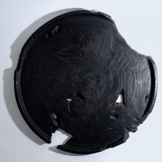 漆黒トレイ Φ425