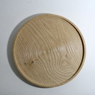 白木トレイ φ330