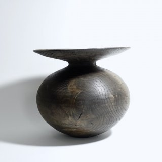 黒漆壺 φ230 h200