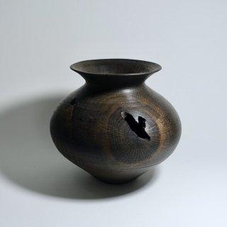黒漆壺 φ240 h220