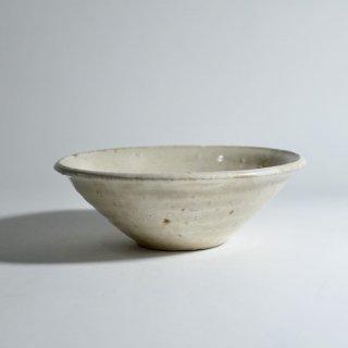 白釉鉢 5寸