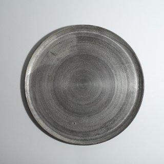 いぶし銀彩 平皿