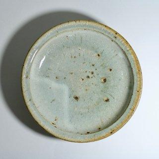 粉引き8寸リム皿(カレー皿)