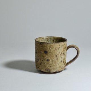 木灰釉コーヒーカップ濃