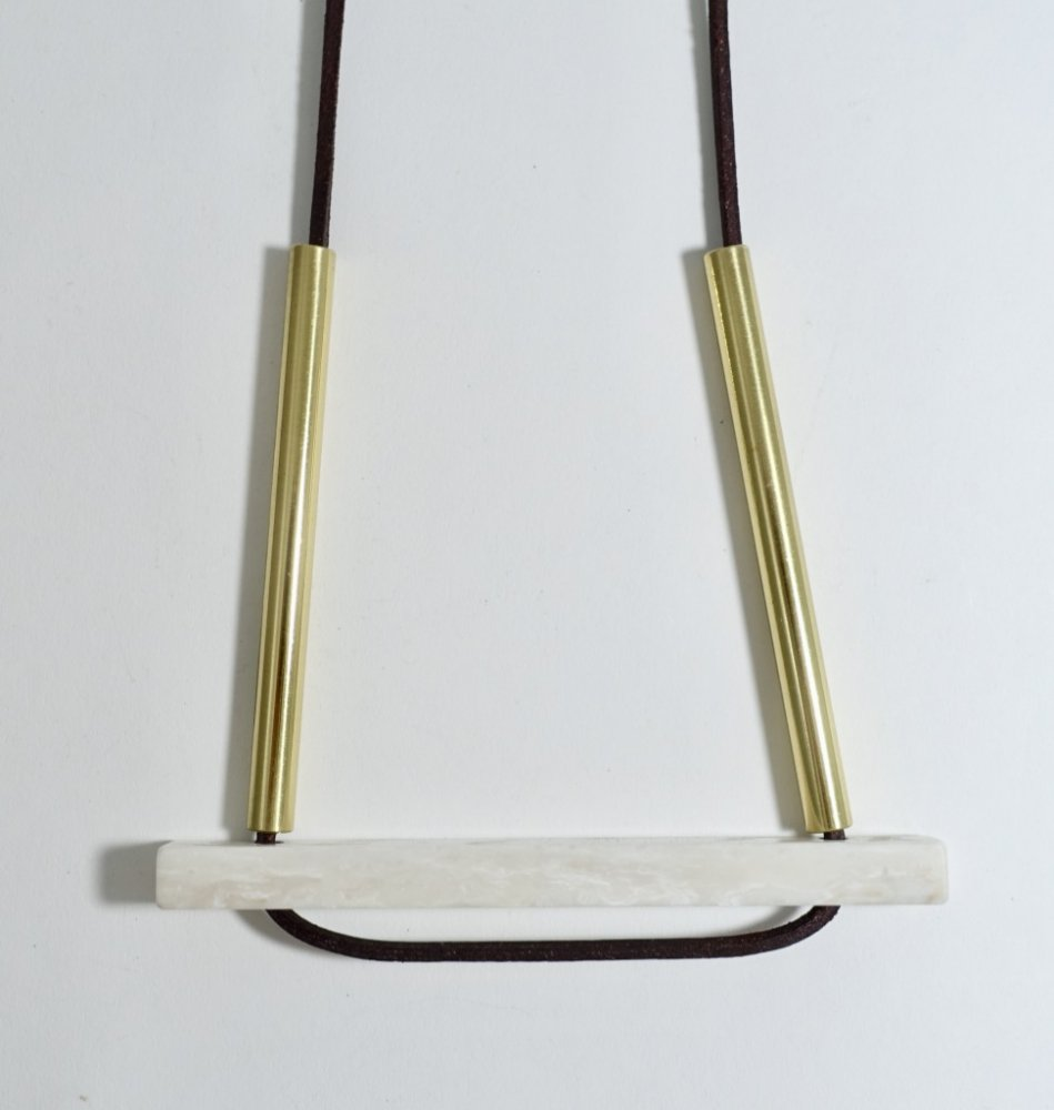 bridge necklace_white