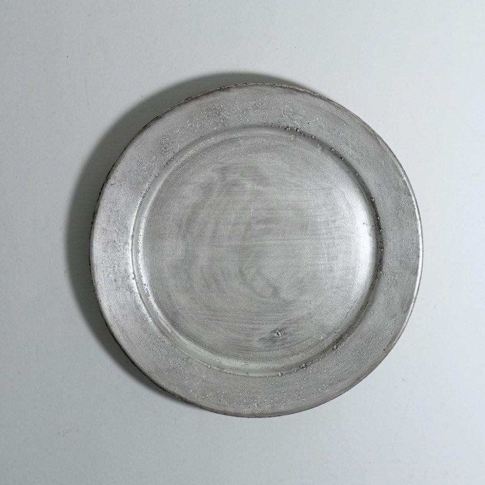 銀磁5寸リム皿