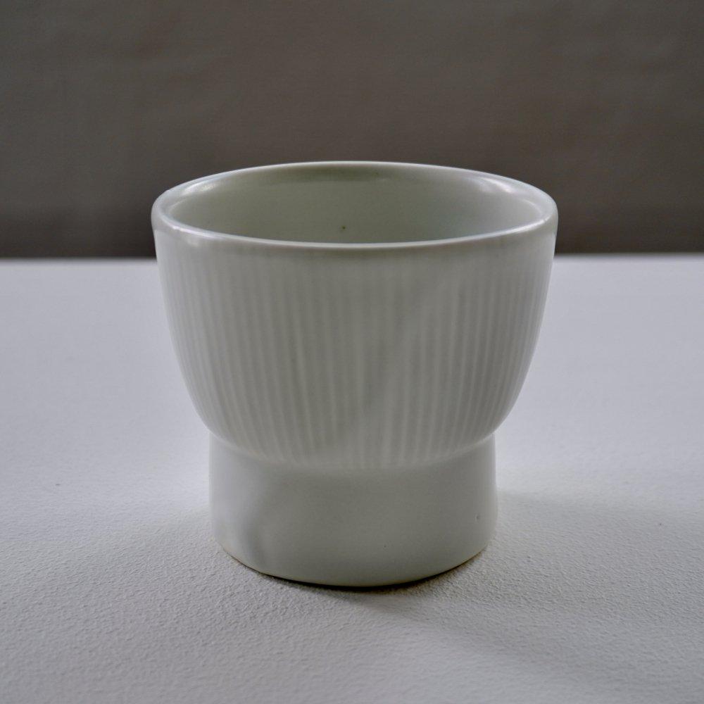 白磁刻線台小鉢