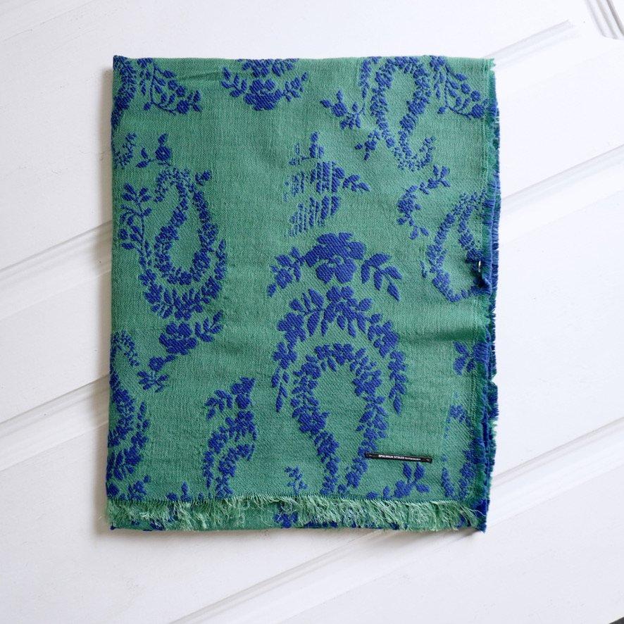 PAISLEY-M  [green × blue]